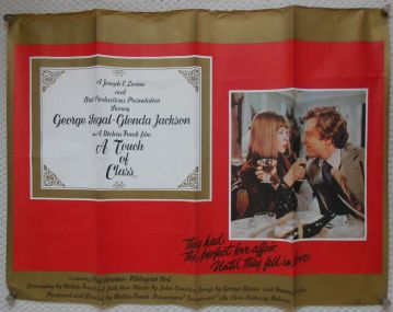A Touch of Class (1973) Vintage Film Poster - UK Quad